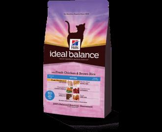 Hill's Ideal Balance Kitten Huhn und Reis