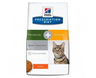 Hill's Prescription Diet Feline Metabolic + Urinary Trockenfutter für Katzen