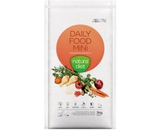 Natura Diet Daily Food Trockenfutter für den kleinen Hund