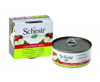 Schesir Nassfutter für Hunde Dose Huhn mit Früchten[3 Sorten]