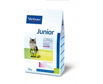 HPM Trockenfutter Junior Neutered Cat