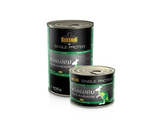 Belcando Dose Mono-Protein Känguru Nassfutter für Hunde