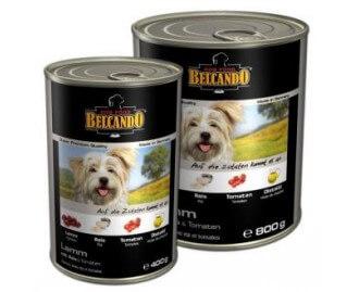 Belcando Lamm mit Reis und Tomate Nassfutter für Hunde