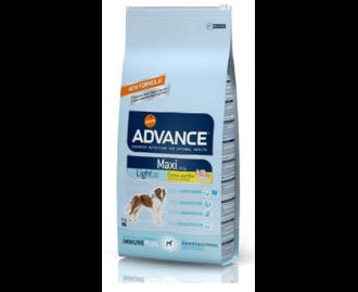 Advance Light Large breed Huhn und Reis Trockenfutter für grosse Hunderassen