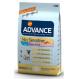 Advance Mini Sensitive Lachs und Reis Trockenfutter für Hunde