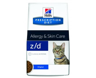 Hills ZD Feline z/d Low Allergen PD - Prescription Diet für Katzen