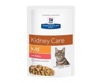 Hills PD Feline k/d Diät für Katzen Lachs (Beutel)