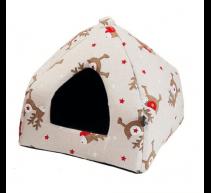 Rentier-Iglu für Hunde und Katzen Nayeco