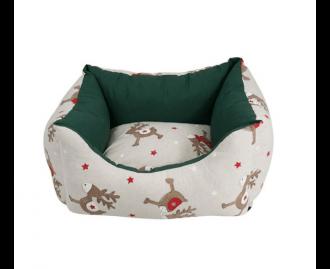 Rentier-Körbchen für Hunde und Katzen Nayeco