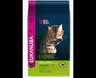Eukanuba Adult Hairball Trockenfutter für Katzen