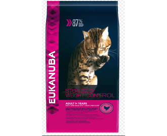 Eukanuba Light Für sterilisierte Katzen mit Übergewicht