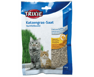 2x1 Kräuterschale für Katzen abführend TRIXIE 100grs.