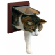 Trixie Katzenklappe 4 Positionen mit Tunnel