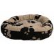 Trixie Korb mit Fussabdrücken für Hunde und Katzen