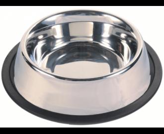Fressnapf für Hunde aus Stahl TRIXIE Ring aus Kautschuk
