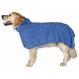 Mikrofaser Bademantel Hund Trixie Blau
