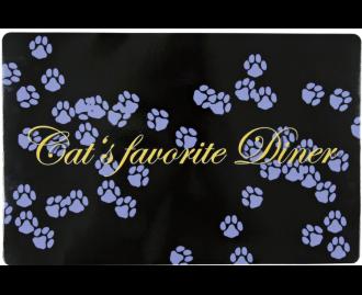 Untersetzer für Katzen TRIXIE Cats favorite Diner 44x28 cm. lila
