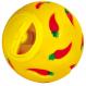 TRIXIE Nagerspielball mit verstellbarer Öffnung 7 cm