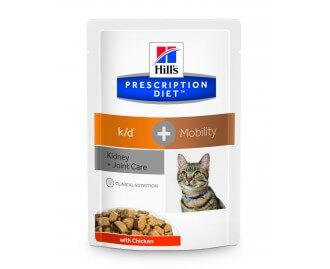 Hills PD Feline k/d + mobility dieta para gatos (Bolsita)