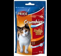 Crumbies con Malta 50 g Golosina gatos Trixie
