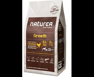 Naturea Trockenfutter Growth Puppy für Welpen