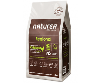 Naturea Trockenfutter für Hunde Regional Chicken/Huhn