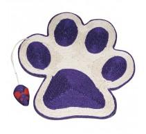 Rascador-Trepador para gatos con huella ratón 40x36 cm. [3 colores]