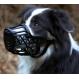 Bozal para perros TRIXIE plastico paletitzacio passt cuero Beige