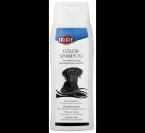 2x1 Hundeshampoo schwarzes Haar Trixie 250 ml