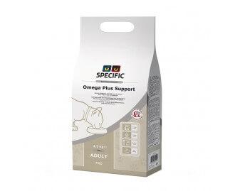 Specific FΩD Omega plus support Trockenfutter für Katzen mit sensibler Haut und mit Gelenkproblemen