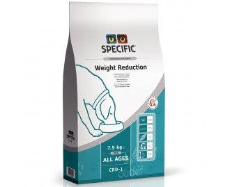 Specific CRD-1 Weight reduction Trockenfutter für übergewichtige Hunde oder mit Diabetes