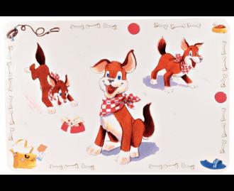 Untersetzer für Hunde TRIXIE Comic Dogs 56x38 cm