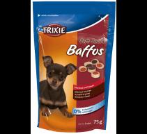 Golosinas para perros 12 envases 75 Gramm. Weiche Snack Baffos ternera gut dort TRIXIE