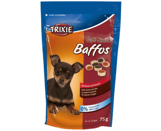 Hundeleckerlis Soft Snack Baffos Rind 75gr TRIXIE