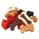 Hundeleckerlis Soft Snack Bony Mix Huhn, Lachs, Lamm TRIXIE 500 gr Behälter
