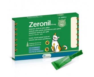 Zeronil Pipetten gegen Ungeziefer für Katzen