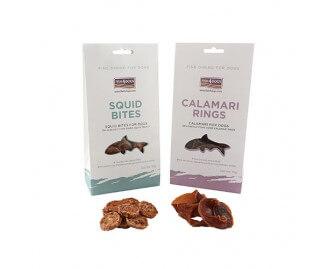 Fish4dogs Calamari Rings Leckerlis für Hunde