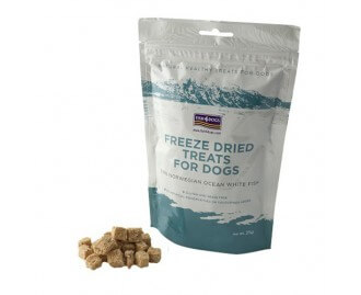 Fish4dogs Freeze Dried Treats Leckerlis für Hunde