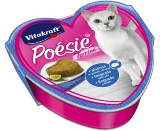 Vitakraft Poésie + Scholle in Eihülle für Katzen