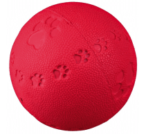 Pelota con sonido caucho natürliche 7cm TRIXIE mordedor y juguete para perros