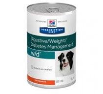 Hills WD Canine w/d PD - Prescription Diet Diät für Hunde (Dose)
