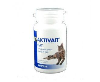 Aktivait Nahrungsergänzungsmittel für Katzen 60 Kapseln