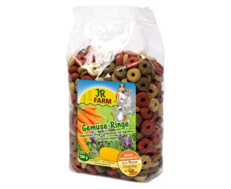 Gemüse Ringe 200 gr. JR Farm Futter für Nagetiere