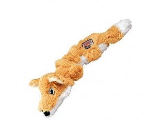 KONG Scrunch Knots Fuchs Spielzeug für Hunde