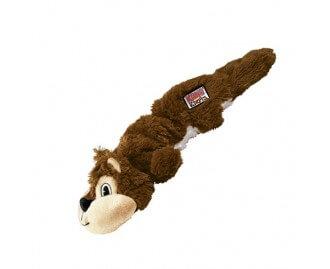 KONG Scrunch Knots Eichhörnchen Spielzeug für Hunde