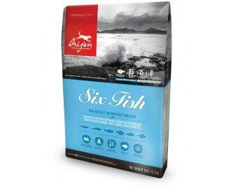 Orijen 6fish Trockenfutter für Hunde