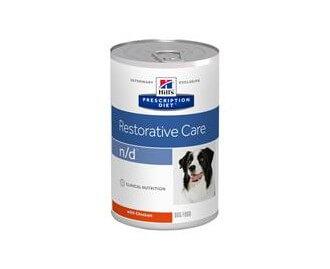 Hills ND Canine n/d (Lata) 360 grs. PD - Prescription Diet Diät für Hunde