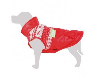Mantel für Hunde rot