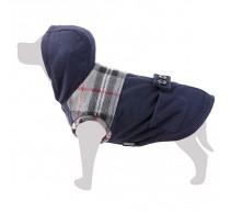 Mantel für Hunde marineblau