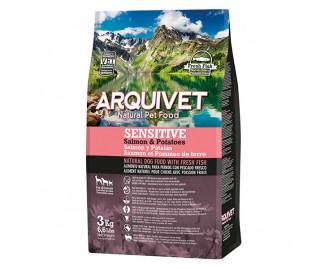 Arquivet Sensitive Lachs und Kartoffel Trockenfutter für Hunde